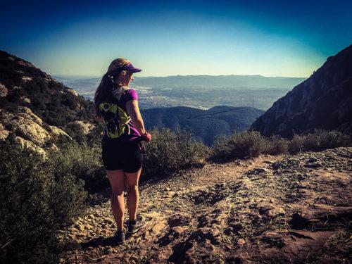 Löpning i berg