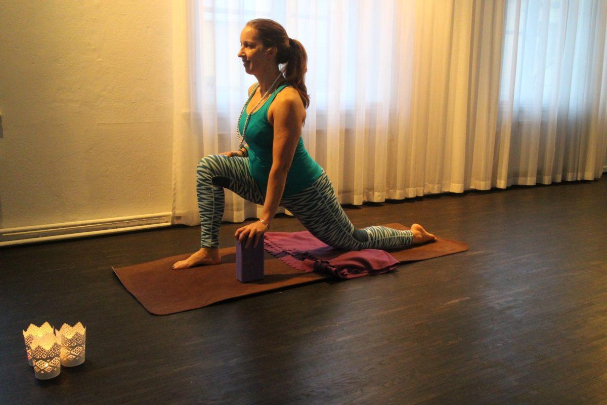 Yin yoga draken